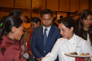Communities presented a tasting of the food they will be cooking for the delegates to the ITM 2015