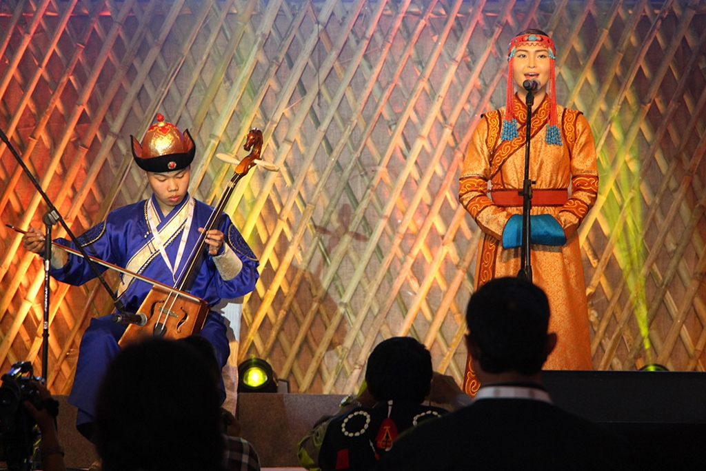 The Mongolian Throat Singers at ITM 2015, in Shillong (1024x683) (2)