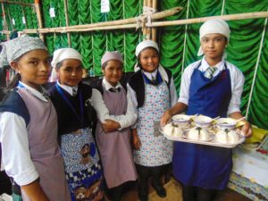 Indigenous food cooking competition Shillong