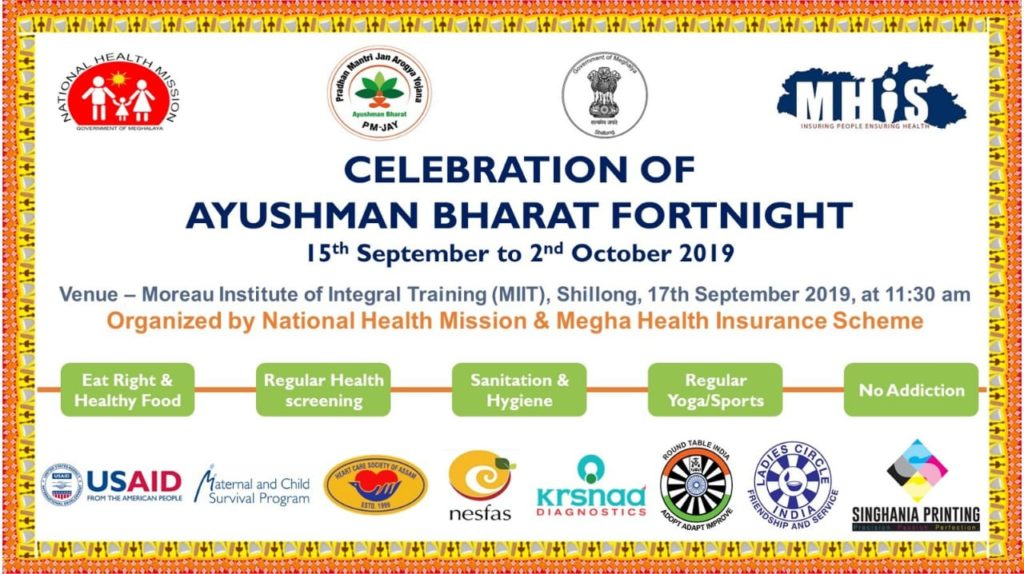 CELEBRATION OF AYUSHMAN BHARAT FORTNIGHT