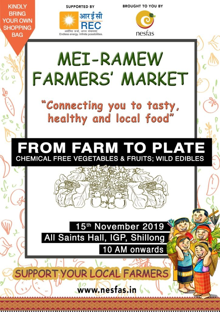 Mei-Ramew Farmers' Market- November Edition