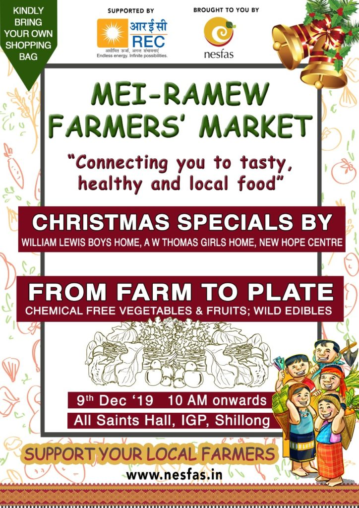 Mei-Ramew Farmers' Market (December Edition)