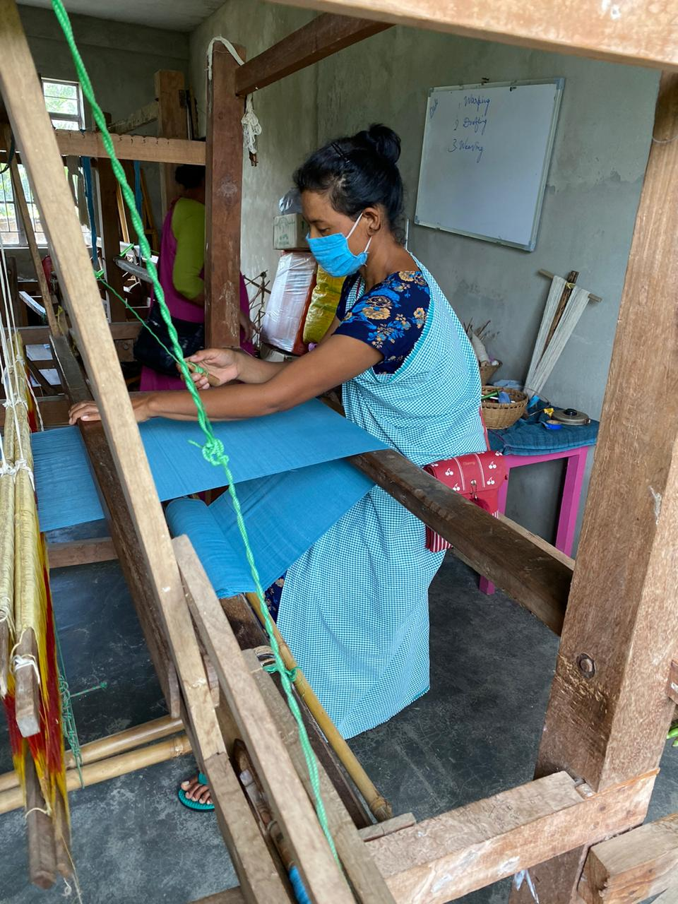 ERI WEAVES TRAINING CONCLUDES IN MADARTIANG (RI-BHOI DISTRICT)
