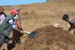 Session 2 Composting Workshop at Laitsohpliah: The 1st turning