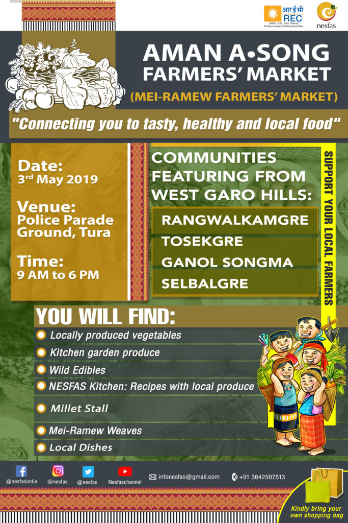 Aman A•song Farmers' Market in Tura- 3 May 2019