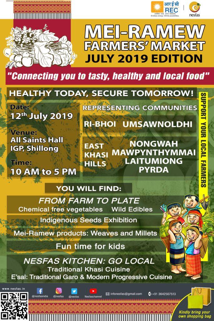 Mei-Ramew Farmers' Market- July Edition 2019