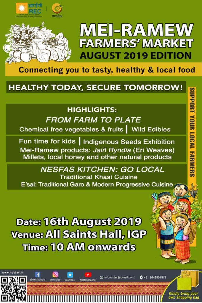 Mei-Ramew Farmers' Market- August edition
