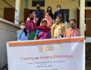 Khneng Embroidery Training Programme in Mustoh