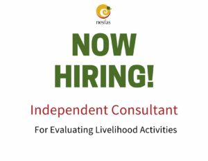 We are hiring an independent consultant